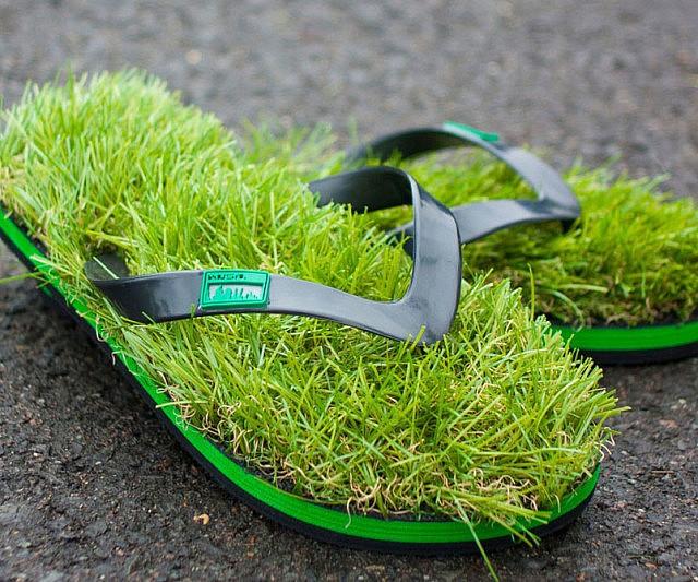 grass-sandals