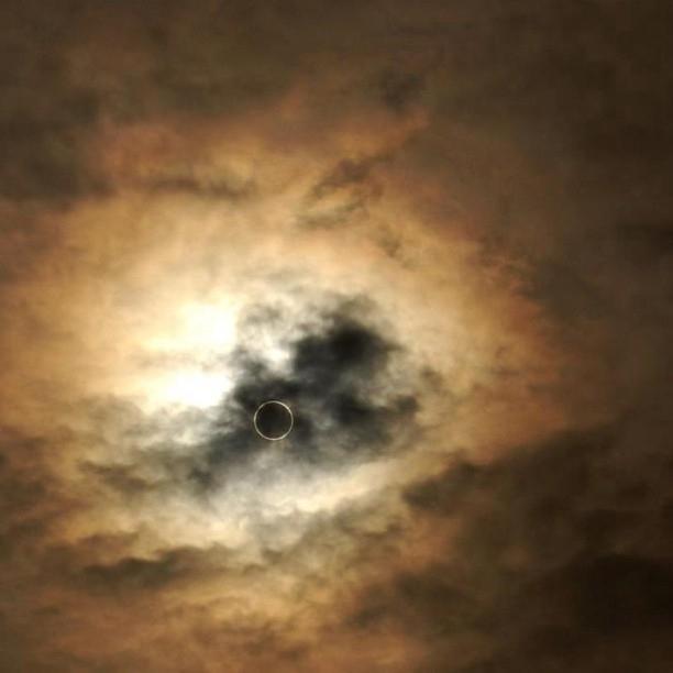 Near Tokyo Solar Eclipse