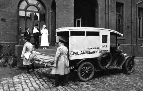 Model T ambulance