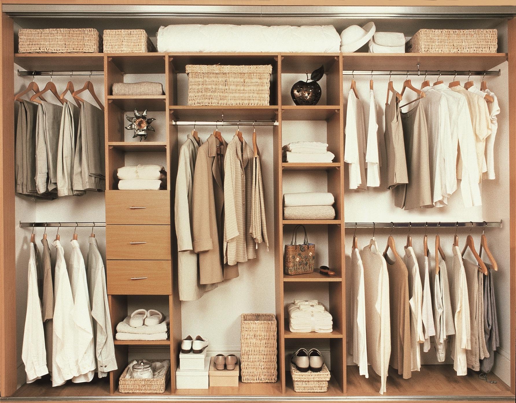 Wardrobe Storage Closet