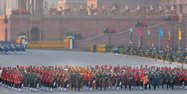 ceremonial performance of bands