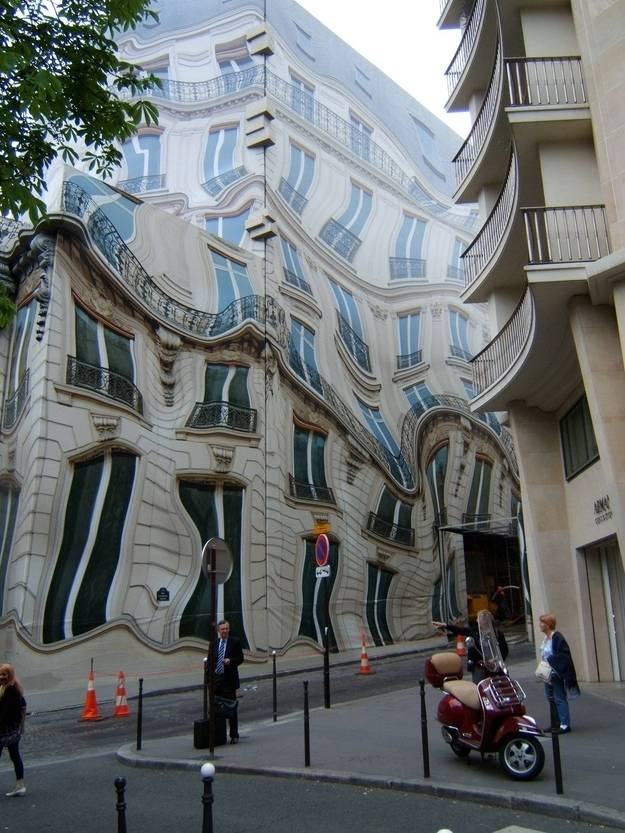 11. This building isn't melting