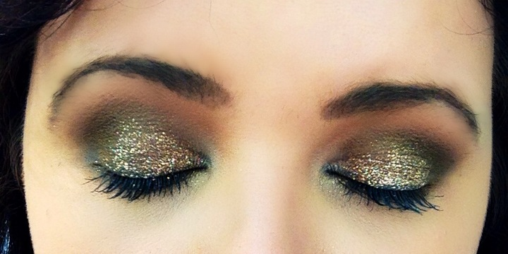 3. Glitter and Shimmer on Your Eyelids