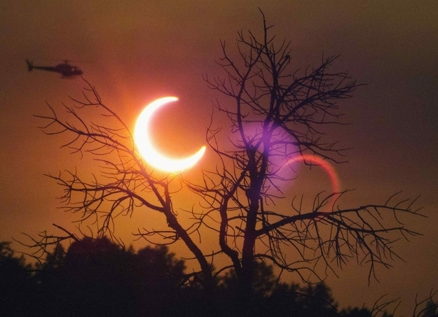 Eclipse in Payson Arizona