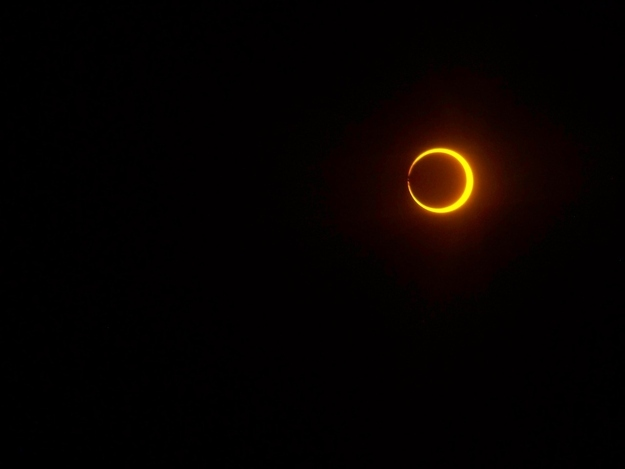 New Mexico Solar Eclipse
