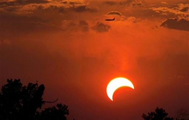 Irving, Texas Solar Eclipse