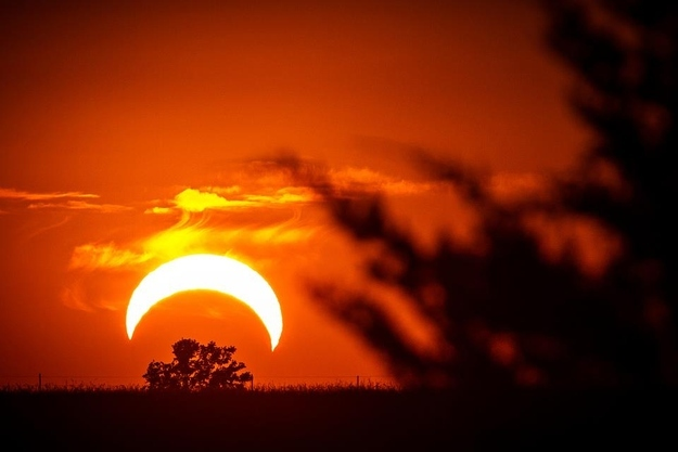 Solar Eclipse in Missouri