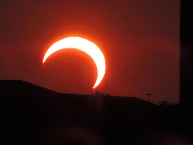 2.Wichita,Kansas Solar Eclipse