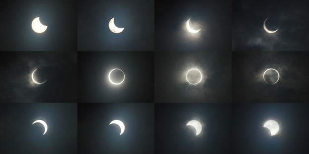 Japan Solar Eclipse