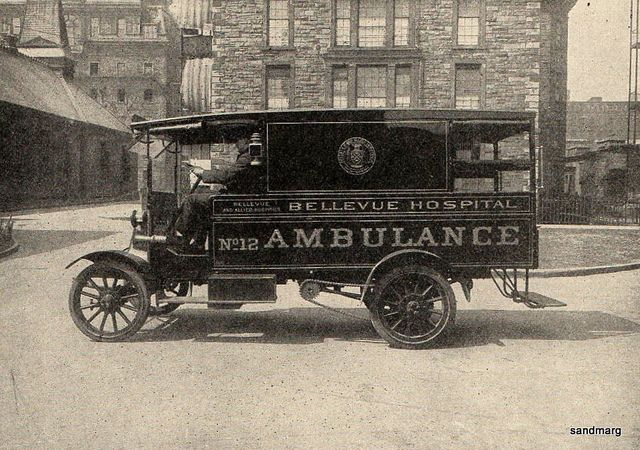 1914 Ambulance Bellevue Hospital