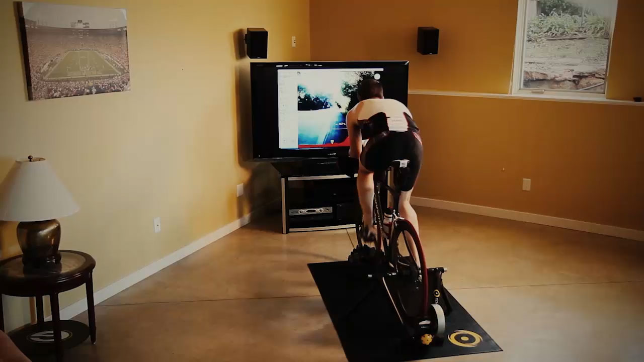 Indoor Virtual Bike Trainer