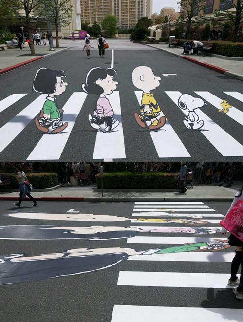 Look Twice At A Crosswalk