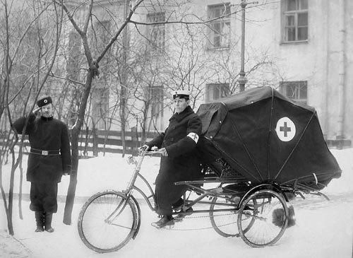 First Ambulance Carriages
